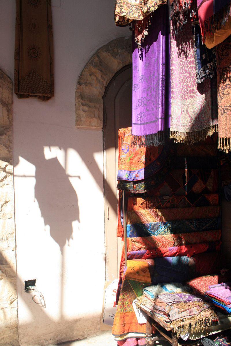 The bazar at Jerash